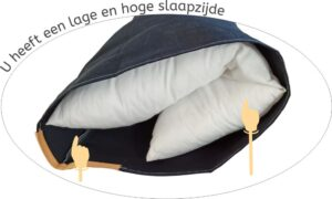 High Low Pillow Wrapper